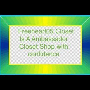 Come shop freeheart05 closet we are a Ambassador